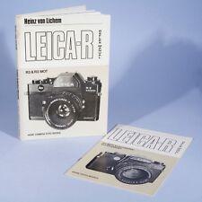 Leica R Reflex Manual R3 & R3 MOT / R4 MOT Electronic * Heinz Von Lichem * Hove