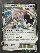 Pokemon : XY STEAM SIEGE STEELIX EX 67/114 RARE HOLO EX