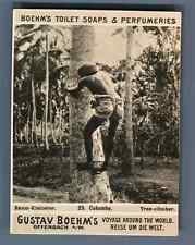 "Ceylan, Colombo, Tree-climber  Vintage silver print. Photo from the Series ""Gust"