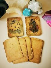 ANTIQUE Oracle  cards Lenormand Fortune telling cards tarot