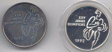Portugal 200 Escudos plata y niquel 1992 Olimpiada de Barcelona @@ Atletismo @@
