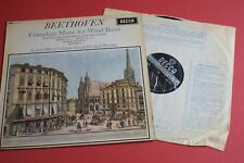 SXL 6170 WBg ED1 Beethoven Complete Music for Wind Band DECCA STEREO LP UK