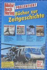 Motor buch verlag - Prospekt Katalog Bücher zur Zeitgeschichte - B19490