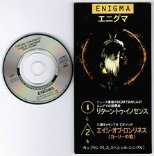 "ENIGMA Return To Innocence /Age Of...JAPAN 3"" CD SINGLE VJDP-10239 Unsnapped"