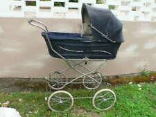 STRENG Kinderwagen, blau Kord, Vintage, gebraucht
