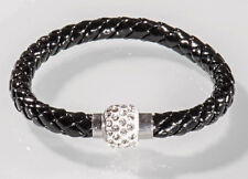 Nick Jordan Armband Magnetband schwarz Bracelet Kristall Unisex Magnet NEU OVP