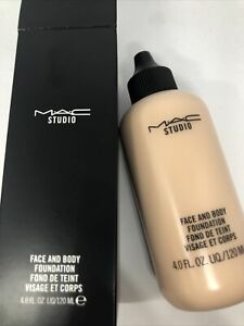 MAC~Face and Body Foundation~N1~Hydrating-Jumbo120ML/4oz Bottle ~GLOBAL SHIP!