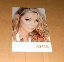Sandra * maría magdalena *, original firmada/signed ak/Postcard en 10x15 cm