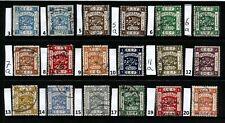 Stamps Palestine (1918) E.E.F used CV £93.75