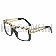 Fashion Big Square Frame Optical Reading Eye Glasses Eyewear Mens Womens UV400