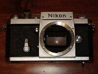Nikon F (AR-1) 35mm SLR Film Camera Body Only