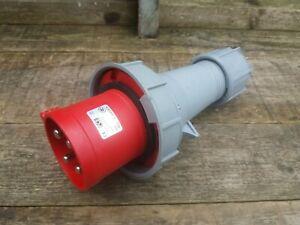 PCE 63 Amp 415v 3 Phase Plug