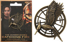 Hunger Games CATCHING FIRE Mockingjay PIN PROP REPLICA Jewelry Katniss NECA NEW