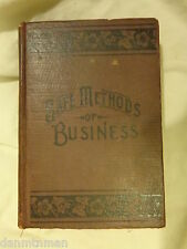 Safe Methods of Business by J L Nichols (1913, Hardcover)