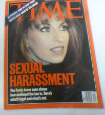 Time Magazine Sexual Harassment Paula Jones March 1998 NO ML 043014R