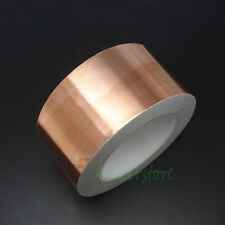 50mm x 33M (108 feet) EMI Shielding Single Conductive Adhesive Copper Foil Tape