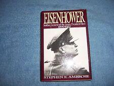 EISENHOWER 1890-1952 by Stephen E. Ambrose/1st Ed (Vol. 1)/HCDJ/Bio./Military