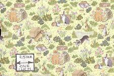"""""""Family Pets"""" miniature wallpaper Jackson's Miniatures dollhouse 1pc JM46"""