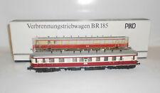 PIKO Verbrennungstriebwagen BR185 Deuchte Reichsbahn Échelle H0 Ovp Läuft ! (M4