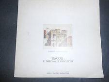 1982 CARMINE GAMBARDELLA BACOLI, IL DISEGNO IL PROGETTO - ED S.E.N. NAPOLI