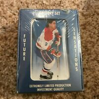 1991 Ultimate Hockey Premier Edition COMPLETE 90 CARD SEALED FACTORY SET English
