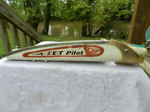 Vintage AMF Roadmaster Jet Pilot Decal Bicycle TANK ONLY Bullet Headlight Jewels