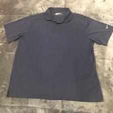 Rare Men's Nike Golf Tour Performance Dri Fit Short Sleeve Polo Shirt Size XL