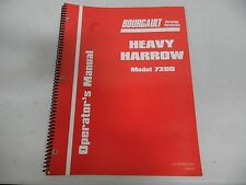 Bourgault Heavy Harrow Model 7200 Operator's Manual
