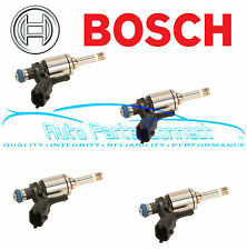 4 BOSCH FUEL INJECTORS for MINI COOPER TURBO 1.6L DOHC N14B 2007-2009 INJECTOR