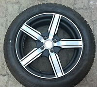 "4 pneumatici gomme invernali BRIDGESTONE 195-55-R16 + cerchi in lega 16"" platin"