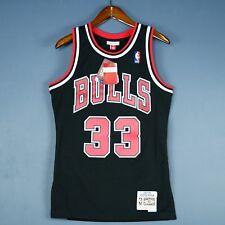 100% Authentic Scottie Pippen Mitchell & Ness Bulls Swingman Jersey Size S 36