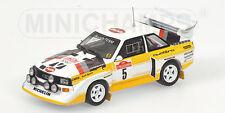 1/43 Audi Sport Quattro S1 Audi Sport Winner Rally SanRemo 1985 W. Rohrl #5