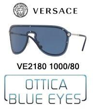 Occhiali da Sole VERSACE Sunglasses VE 2180 1000/80 темные очки luxury unisex