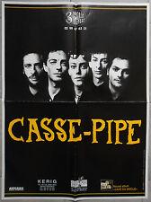 Affiche CASSE-PIPE Album CAFE DU SIECLE 1999