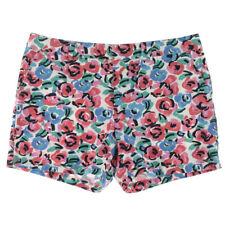 NEW Womens Stunning Tommy Hilfiger Floral Twill Khaki Chino Shorts AU 12 W30