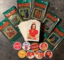 1994 Coca-Cola Collection Series 2 Complete 100 Card Set * 8 Pogs * 6 Wrappers