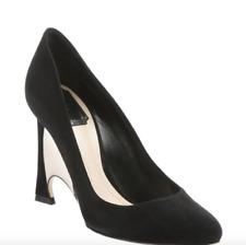 New Christian Dior Black Suede Optique Mirror Heel Pumps Sz 39  $695