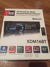 Dual Electronics XDM16BT High Resolution LCD Single DIN Car Stereo with B... NEW