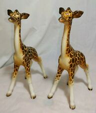 Pair of Beswick Small Giraffe calves 853 unusual strong colouring