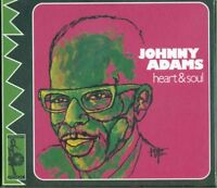 Johnny Adams - Heart & Soul Digipack Vampi Soul 17 Tracks Cd Perfetto