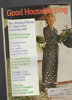 Good Housekeeping Magazine July 1973 Pat Nixon Hugh Cave