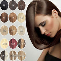 """10pcs Full Head Clip in 100% Real Human Hair Extensions 24""""26""""28""""30"""""""
