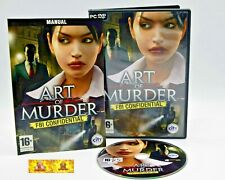 Art of Murder FBI Confidential PC Game Puzzle Solving