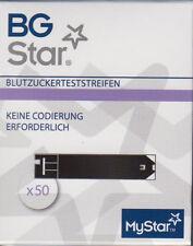 BG Star Blutzuckerteststreifen 50 Sensoren 6581340 neu+OVP v. med. Fachhändler