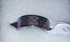 BRAND NEW RAINBOW MULTI COLOUR STAINLESS STEEL RING SIZE 17