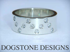 Band Excellent Cut Round VS2 Fine Diamond Rings