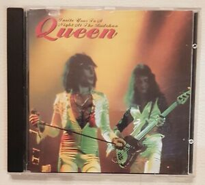QUEEN LIVE AT BUDOKAN JAPAN 31 march 1976 CD RARE