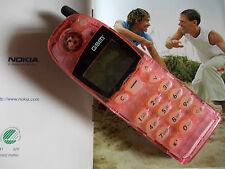 Cellulare NOKIA 5110 sat. Mercedes BMW Audi - ROSA TRASPARENTE