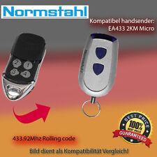 Handsender Garagentorantriebe 433,92 MHz NORMSTAHL EA433 2KM Micro Funksender