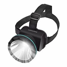 KMASHI 2600 Feet Camping&Hiking Headlamp Head Light LED Mining Flashlight Torch
